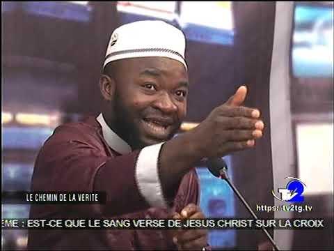 DÉBAT INTER-RELIGIEUX : JÉSUS ÉTAIT -IL CRUCIFIÉ POUR LES PÉCHÉS FAIT LE 06/04/2019 À TV2 À LOMÉ