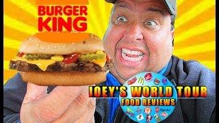 BURGER KING® New Homestyle Cheeseburger REVIEW!