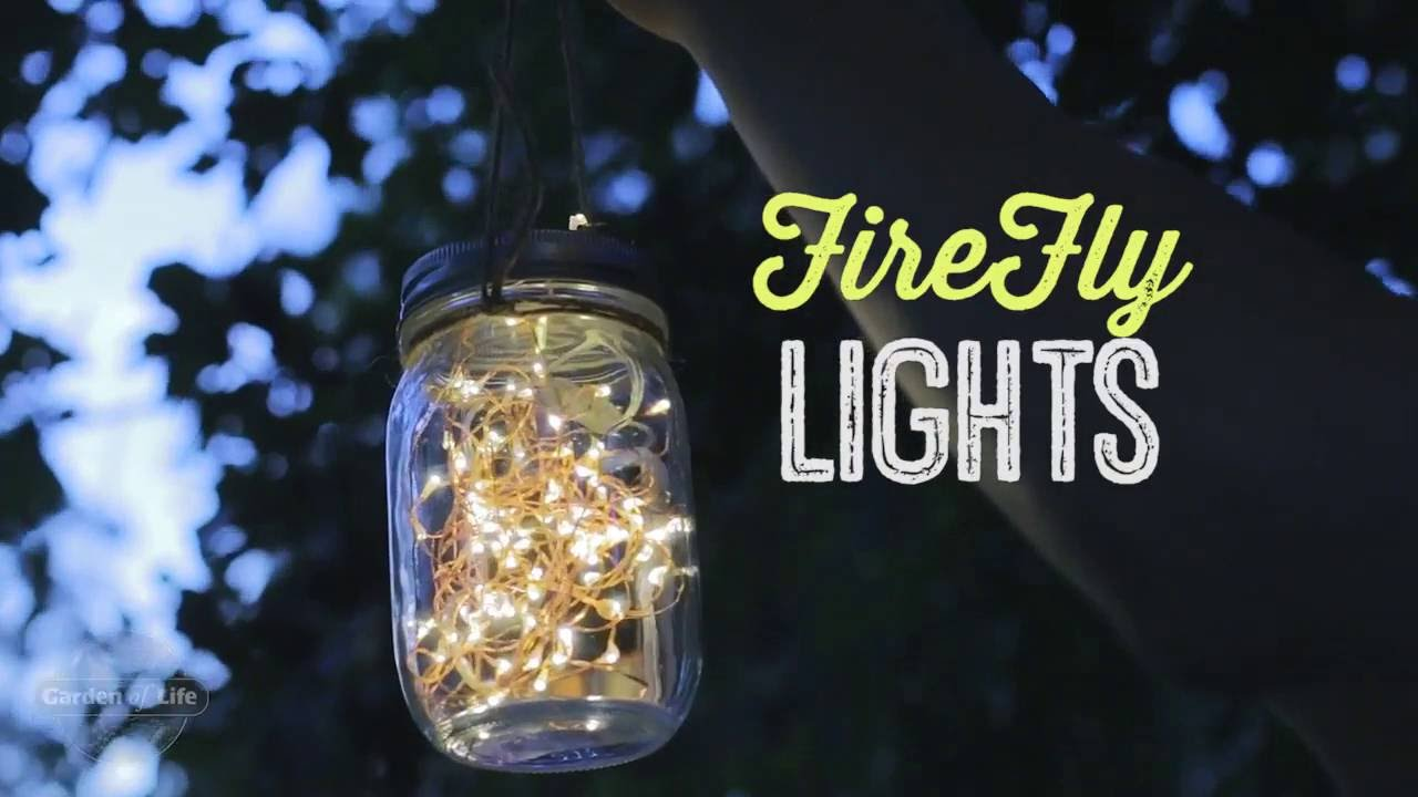 Diy Mason Jar Firefly Lights Youtube