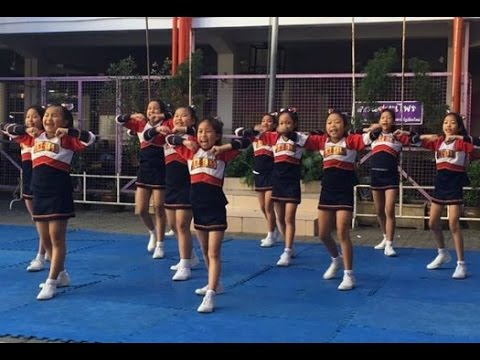 Thailand Nation Cheerleading Championship 2016 สาธิตม.ราชภัฏเชียงใหม่