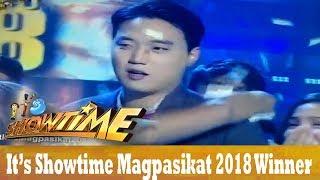 It's Showtime Magpasikat 2018 Champion!