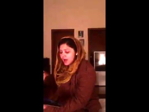 Telanted lady who sang a good song Homemade singer,Best singing telant in pakistan