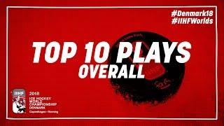 Top-10 Plays | #IIHFWorlds 2018