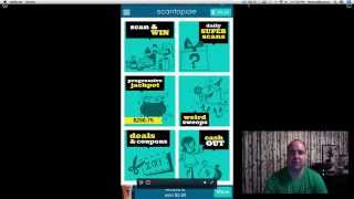 Scantopia App Walkthrough - Scan your way to earn some extra money