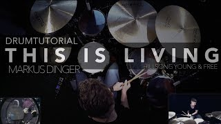 HILLSONG YOUNG & FREE - THIS IS LIVING - Drumcover Markus Dinger Mp3