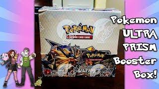 Opening a BRAND NEW Pokemon ULTRA PRISM Booster Box! AMAZING PULLS! Battle vs PokeMANandWIFE!