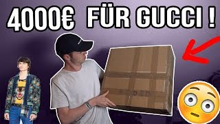 4000€ GUCCI PACK OPENING | Jemand