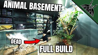 EPIC ANIMAL BASEMENT - I almost died while building this