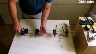 Мебельный кондуктор, шаблон для сверления в пласть - обзор.