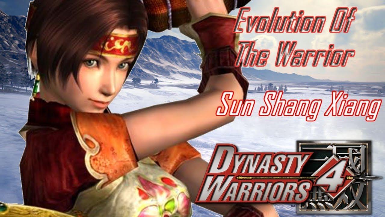 Dynasty Warriors 6 all Sun shang xiangs cutscenes HD