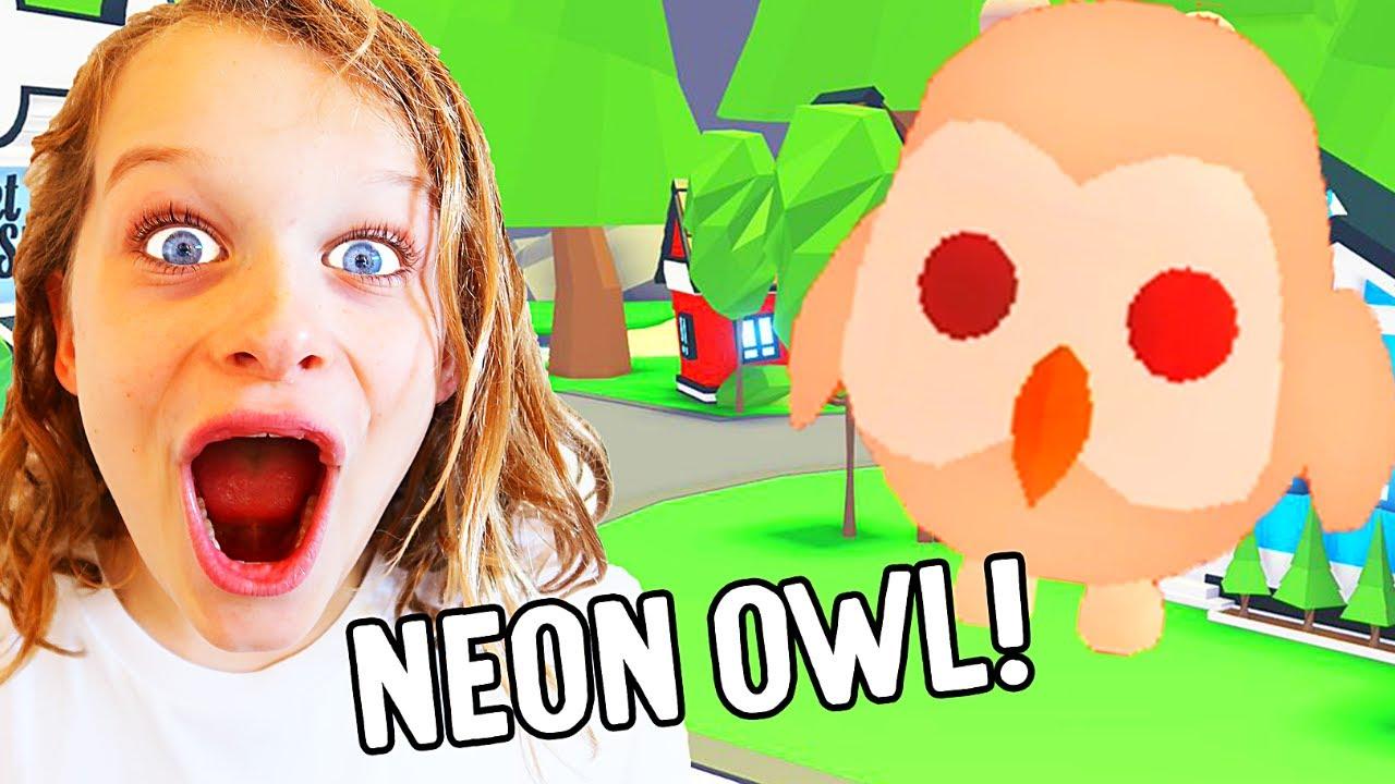 Download GETTING BIGGY'S DREAM PET (MEGA NEON OWL) ??  in Adopt Me Roblox Gaming w/ The Norris Nuts