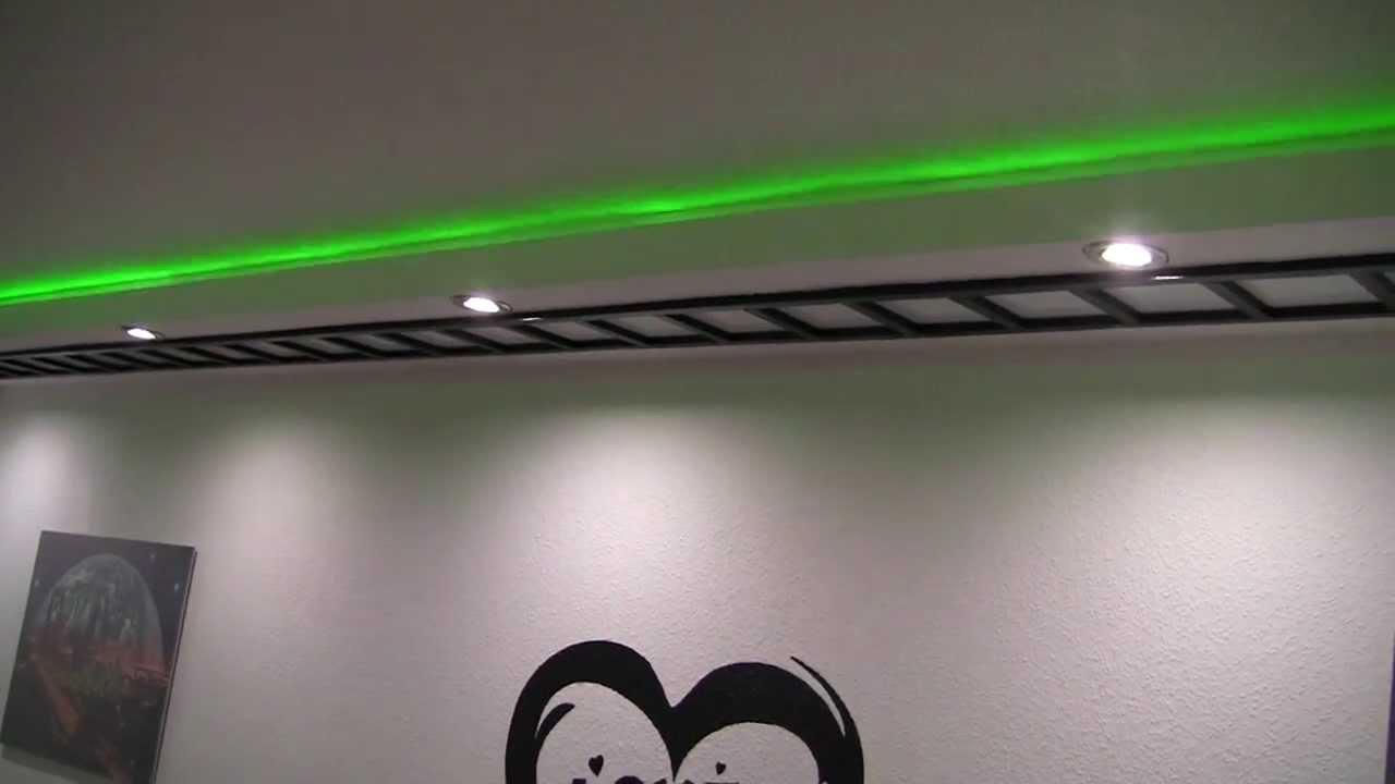 Led wohnzimmer beleuchtung selber bauen: weisse mit linse und rgb ...