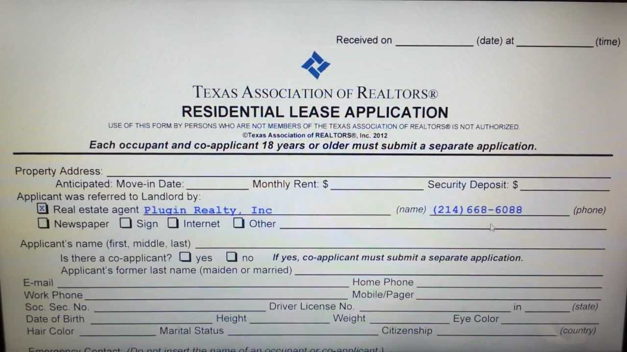 Dallas Landlords Learn How To Review Residential Lease