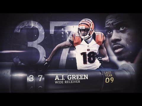 #37 A.J. Green (WR, Bengals) | Top 100 Players of 2015