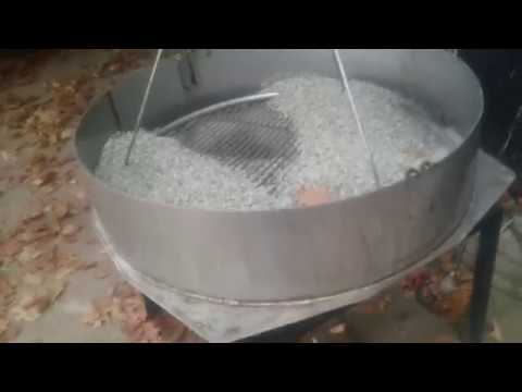 the easiest way to clean a  barbecue grill grate  :)