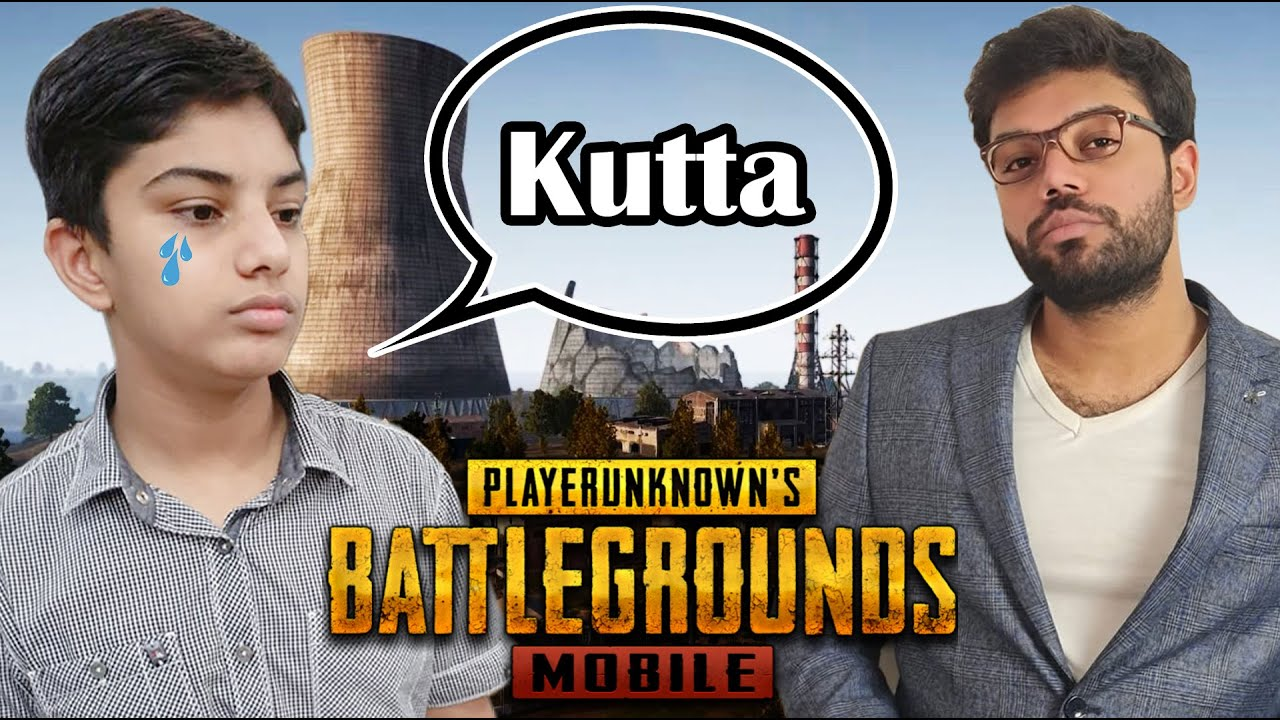 My Little Brother Started Crying In PUBG Mobile !!!