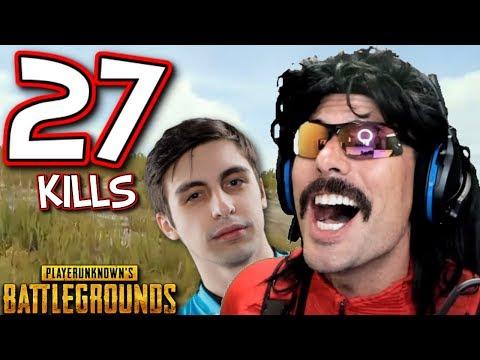 "Doc and Shroud's ""27-KiII Duo Game"" on Battlegrounds!"