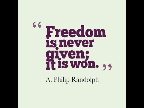 A. Philip Randolph - Civil Rights Pioneer (QUICK FACTS)
