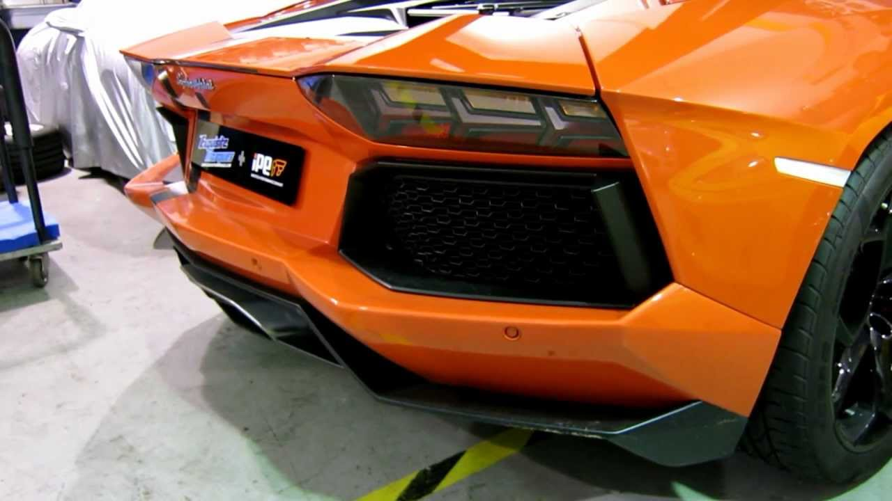 ipe innotech lamborghini 'fuoco toro' aventador video 1 - youtube