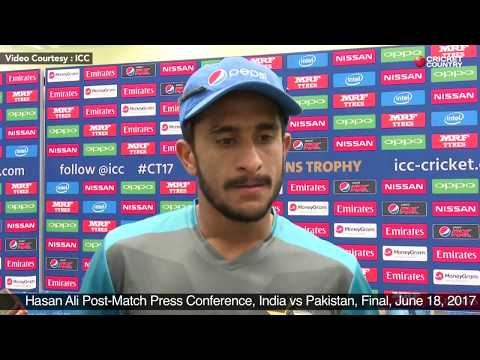 Hasan Ali Post Match Press Conference, India vs Pakistan, Final, June 18, 2017