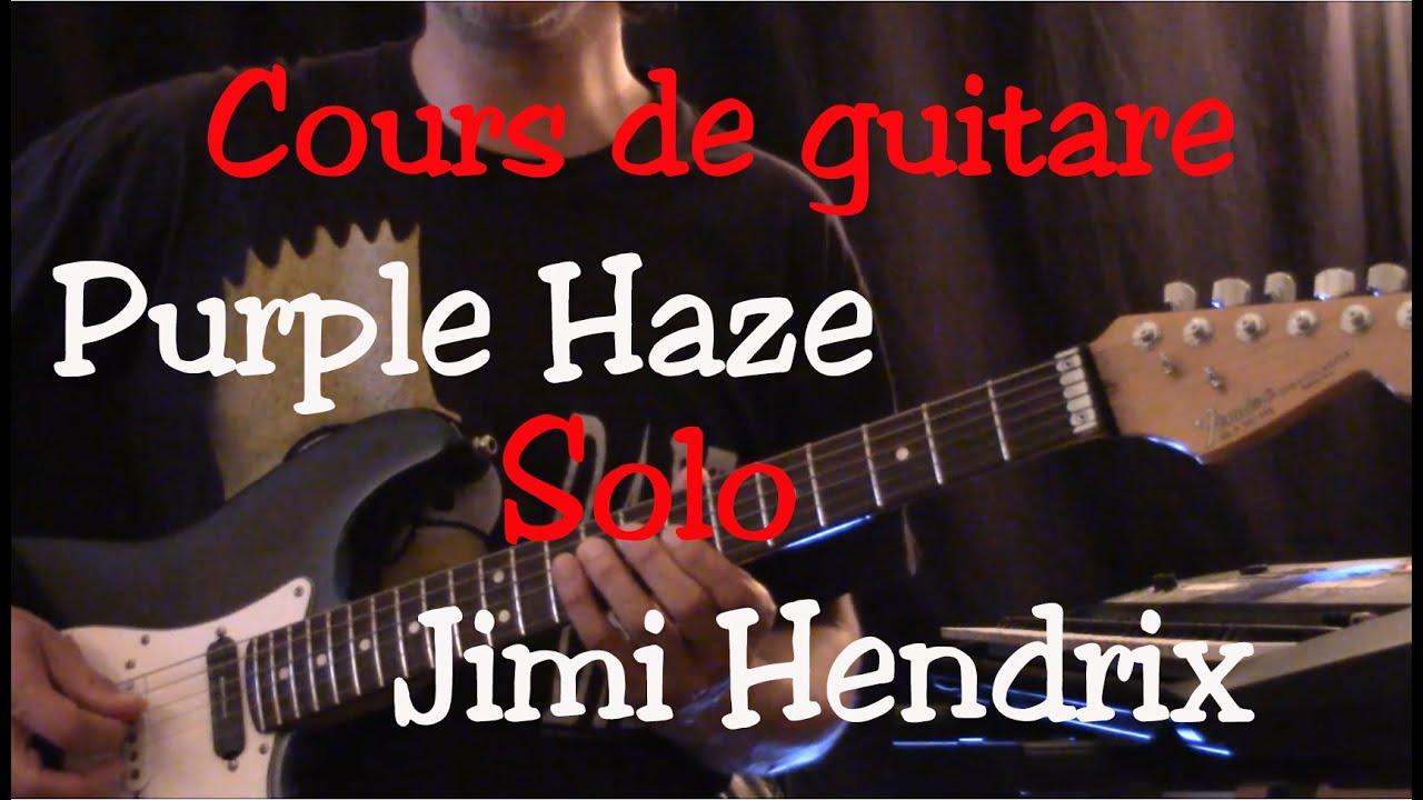 cours de guitare purple haze jimi hendrix solo part4 youtube. Black Bedroom Furniture Sets. Home Design Ideas