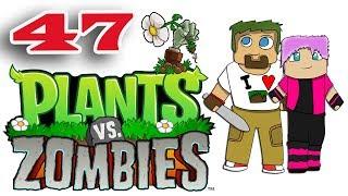 ч.47 Растения против Зомби с кошкой - Выживание: Крыша