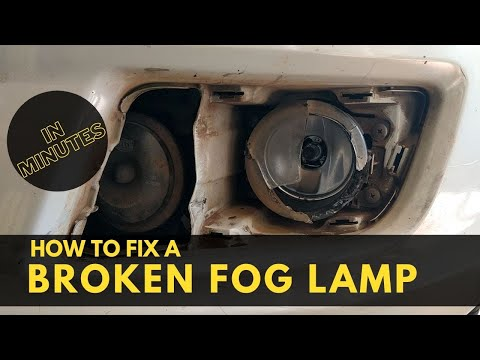 How to Replace the Fog lamp assembly on Suzuki Swift | DIY