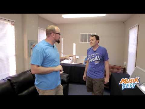Musikfest 2015 - EXCLUSIVE backstage dressing room tour
