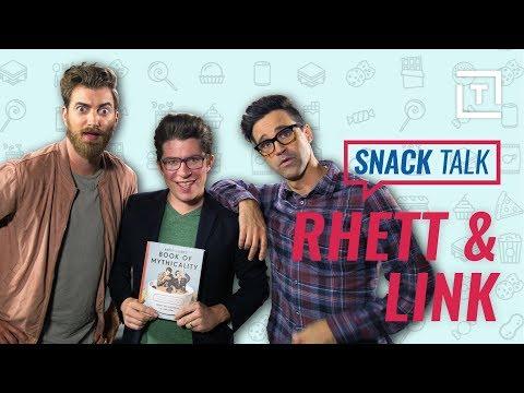 GMM Hosts Rhett & Link Debate Snack Food  SnackTalk
