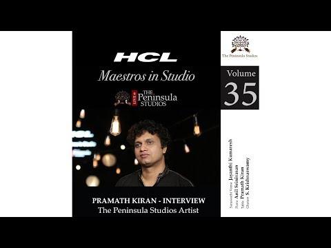 Pramath Kiran-Artist Profile-HCL Maestros In Studio Live @TPS