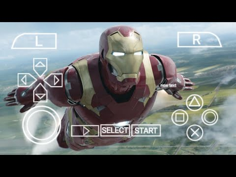 Iron Man PSP High Graphics Games Download For Android