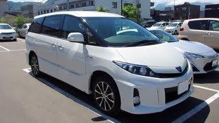 видео Toyota Estima