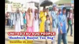 SULTANATE OF SULU DARUL ISLAM Will Be FREE - United TAU SUG PEOPLE
