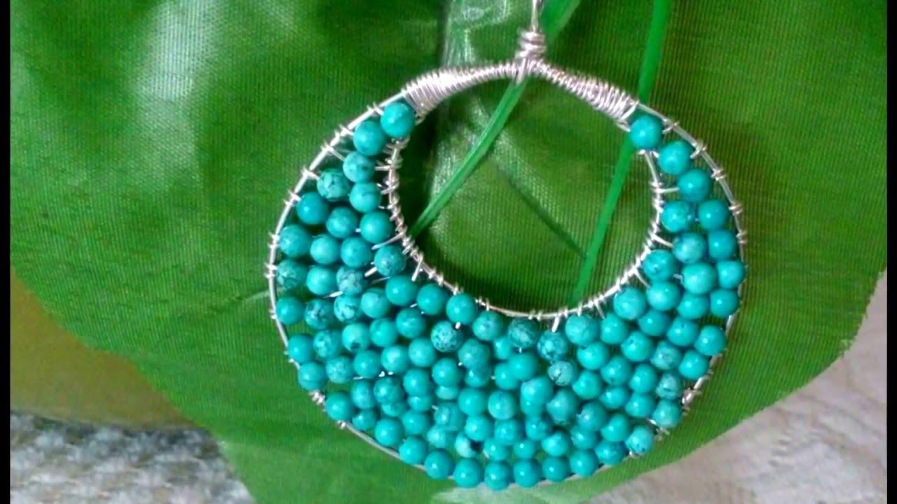 eee760d314b1 Collares artesanales como hacer collares de moda Tutoriales de bisuteria  Alambrismo Bisuterias