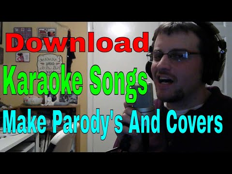 Website For Karaoke Covers and Parody's