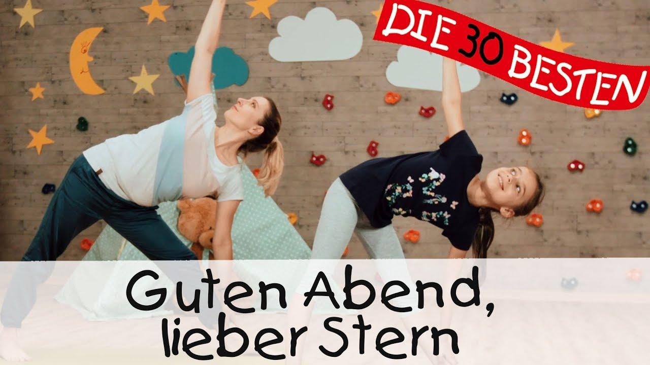 Guten Abend Lieber Stern Yoga Bewegungslieder Für Kinder Ii Kinderlieder