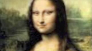 creepy Mona Lisa moving eyes!