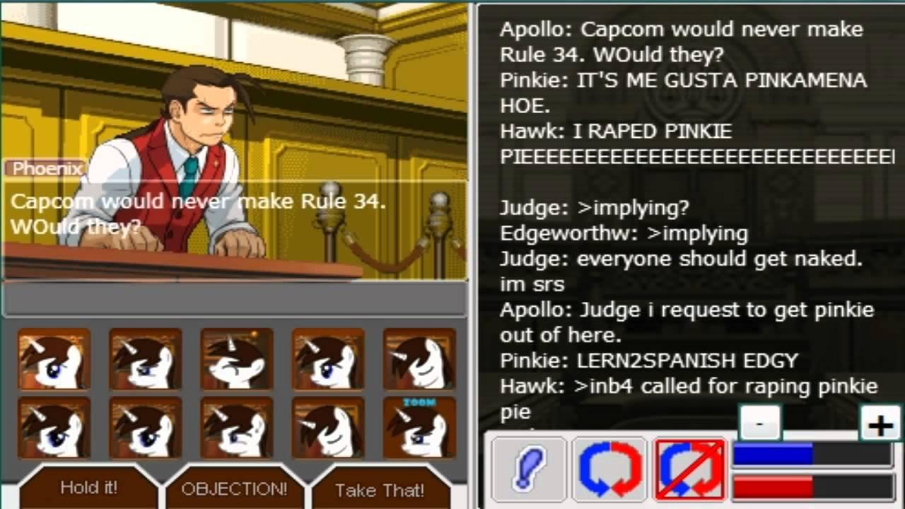 ace attorney online