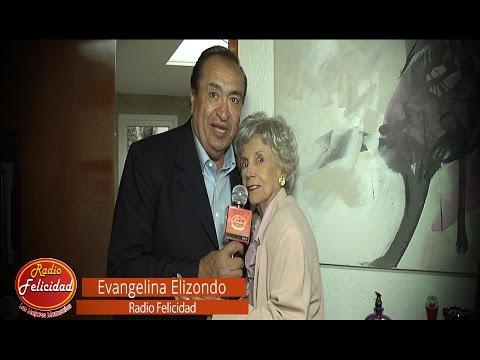 Entrevista Evangelina Elizondo con Gustavo Alvite en Radio Felicidad
