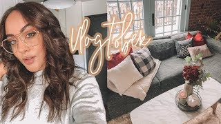VLOG: Halloween Home Decor, Fall Fashion, Beauty Events!! | Antonnette