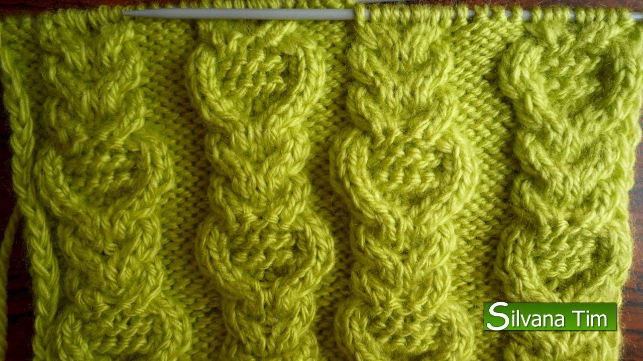 Схема вязания косами спицами фото 708