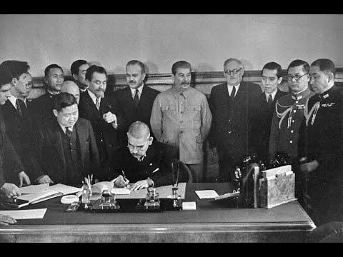 Гроза на Востоке. Советско-Японский пакт о нейтралитете