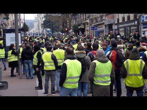Gilets jaunes à Rouen. L'acte 8.