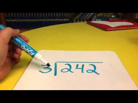 Standard Algorithm For Long Division With Vocabulary