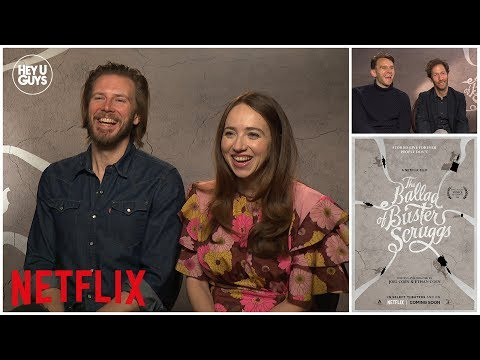 The Ballad of Buster Scruggs  Zoe Kazan & Tim Blake Nelson on Coen Brothers latest