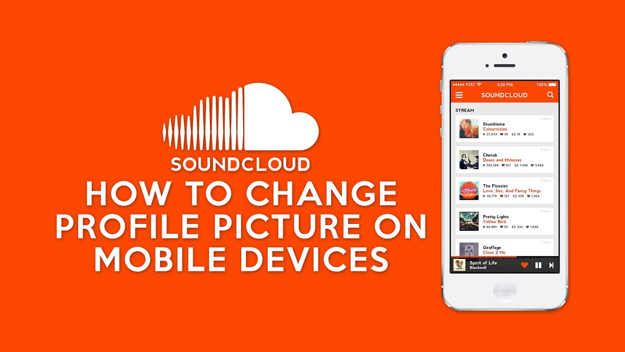 how to change soundcloud profile picture on mobile devices youtube. Black Bedroom Furniture Sets. Home Design Ideas