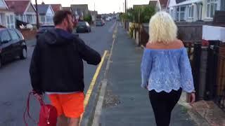 Jaywick walk with Danny sloggett