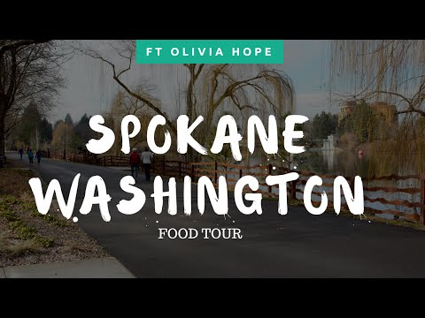 SPOKANE, WASHINGTON| Food Tour With Olivia Hope
