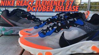 Video NIKE REACT ELEMENT 87! TOTAL ORANGE/NEPTUNE GREEN! download MP3, 3GP, MP4, WEBM, AVI, FLV Oktober 2018