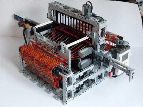 LEGO Mindstorms NXT Loom Machine